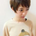 ショートの縮毛矯正☆こんなに自然に仕上がります☆@銀座ANTEREt