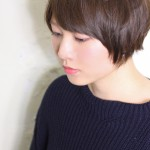 柔らかショートボブ×モノトーンカラー☆田辺智哉