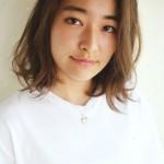 透け感アッシュとランダムカールミディ☆【石川正人】