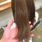 自分たちの髪は営業後にやります。