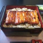 わさび寿司と鰻。