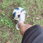 サッカー再始動^ ^